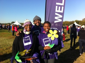 The Williams's at the Walk to End Alzheimer's at the Nation's Capital